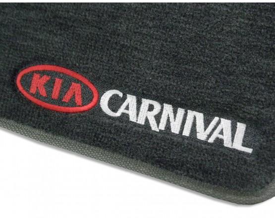 Tapete Kia Carnival Luxo (Alfabetoauto) por alfabetoauto.com.br