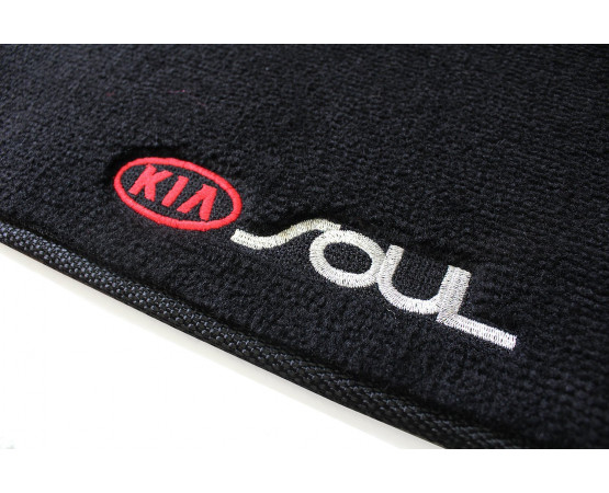 Tapete Kia Soul Luxo (Alfabetoauto) por alfabetoauto.com.br