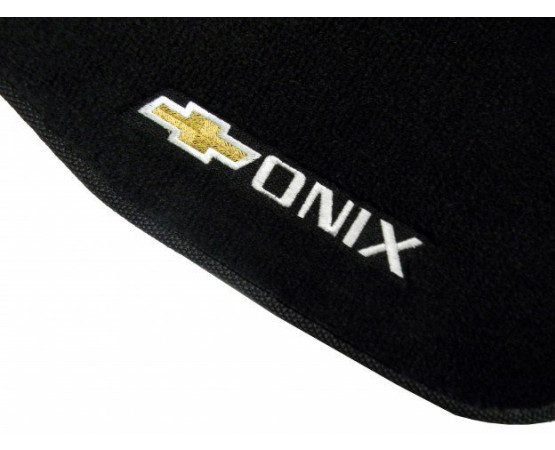 Tapete Chevrolet Onix Luxo (Alfabetoauto) por alfabetoauto.com.br