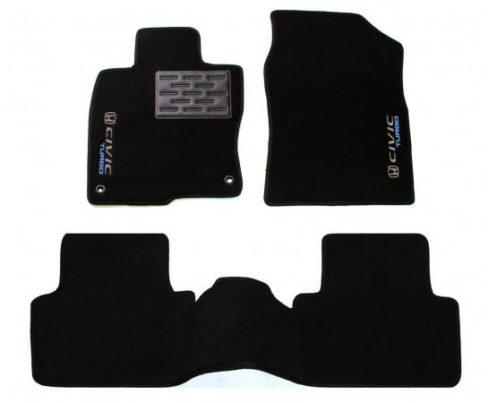 Tapete Honda Civic G10 Turbo Traseiro Inteiriço Luxo (Alfabetoauto) por alfabetoauto.com.br