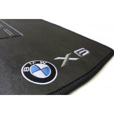 Tapete BMW X6 Traseiro Inteiriço Borracha