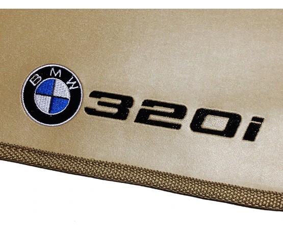Tapete BMW 320i Traseiro Inteiriço Borracha (Alfabetoauto) por alfabetoauto.com.br