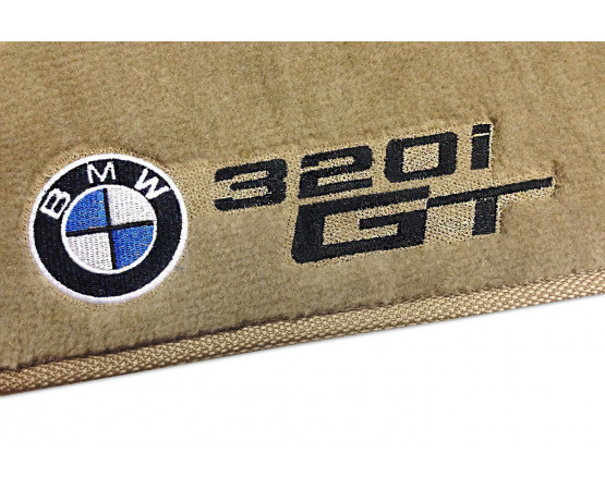 Tapete BMW 320i Gt Traseiro Inteiriço Luxo (Alfabetoauto) por alfabetoauto.com.br