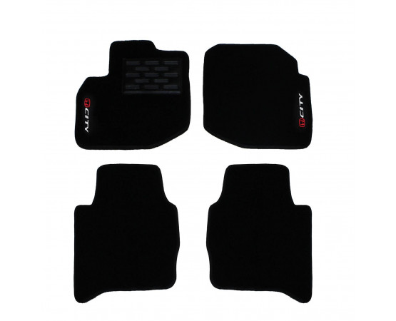 Tapete Honda City Luxo (Alfabetoauto) por alfabetoauto.com.br