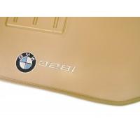 Tapete BMW 328i Traseiro Inteiriço Borracha