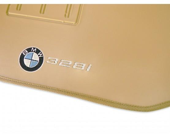 Tapete BMW 328i Traseiro Inteiriço Borracha (Alfabetoauto) por alfabetoauto.com.br