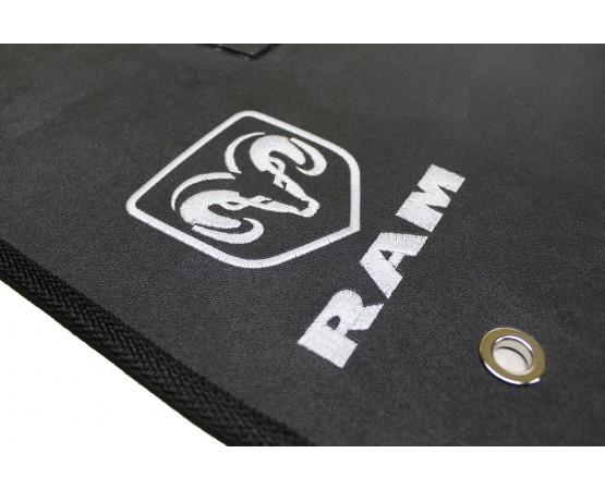 Tapete Dodge Dodge Ram Traseiro Inteiriço Borracha (Alfabetoauto) por alfabetoauto.com.br