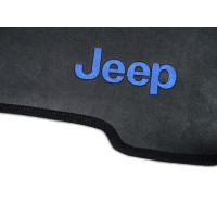Tapete Jeep CJ6 Traseiro Inteiriço Borracha