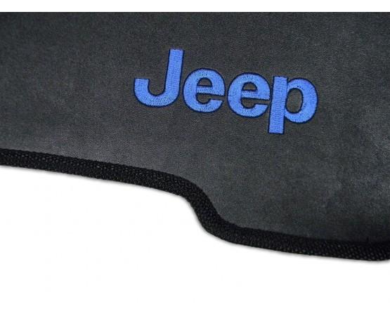 Tapete Jeep CJ6 Traseiro Inteiriço Borracha (Alfabetoauto) por alfabetoauto.com.br