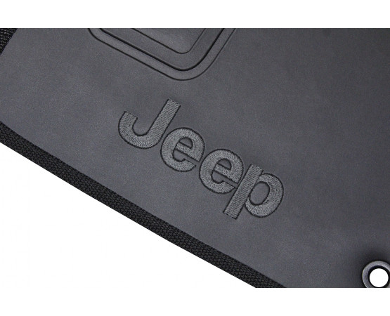 Tapete Jeep Compass Borracha (Alfabetoauto) por alfabetoauto.com.br