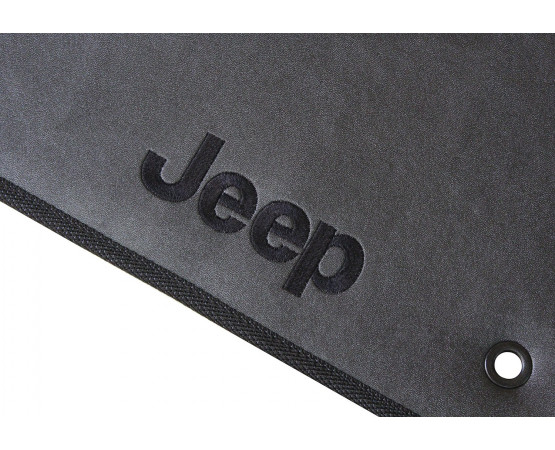 Tapete Jeep Grand Cherokee Traseiro Inteiriço Borracha (Alfabetoauto) por alfabetoauto.com.br