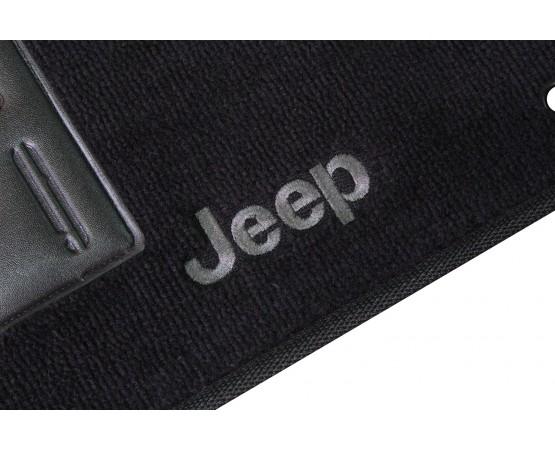 Tapete Jeep Wrangler Preto Luxo (Alfabetoauto) por alfabetoauto.com.br