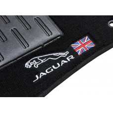 Tapete Jaguar F-PACE Preto Luxo