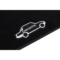 Tapete Chevrolet Chevette Preto Luxo