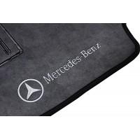 Tapete Mercedes Benz Classe C Preto Borracha