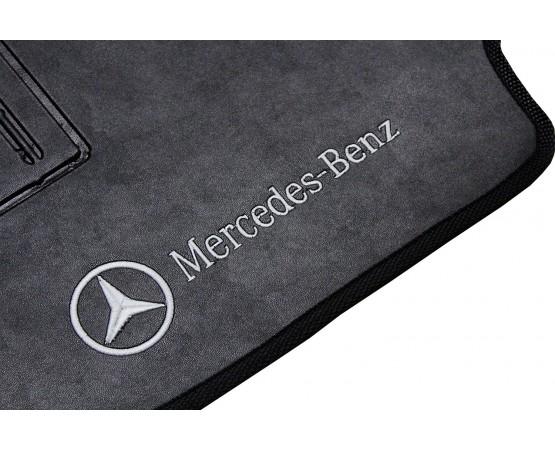 Tapete Mercedes Benz Classe C Preto Borracha (Alfabetoauto) por alfabetoauto.com.br