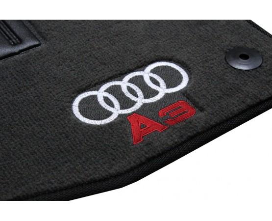 Tapete Audi A3 Chumbo Luxo (Alfabetoauto) por alfabetoauto.com.br