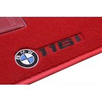 Tapete BMW 116i Luxo Vermelho