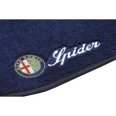 Tapete Alfa Romeo Spider Azul Marinho Luxo