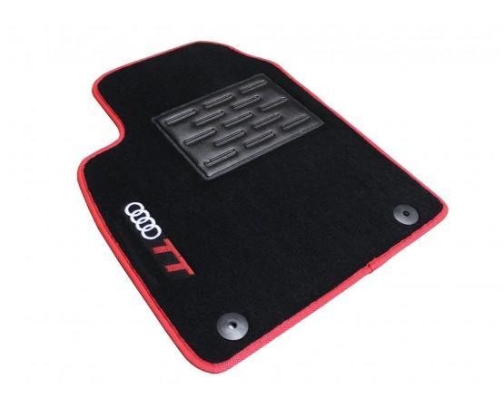 Tapete Audi TT Preto/vermelho Luxo (Alfabetoauto) por alfabetoauto.com.br