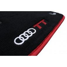 Tapete Audi TT Preto/vermelho Luxo
