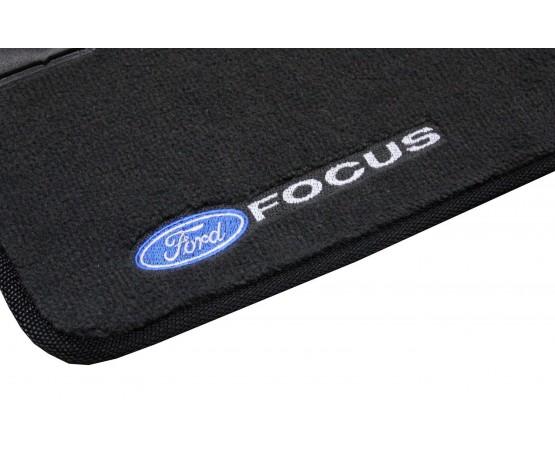 Tapete Ford Focus Chumbo Luxo (Alfabetoauto) por alfabetoauto.com.br