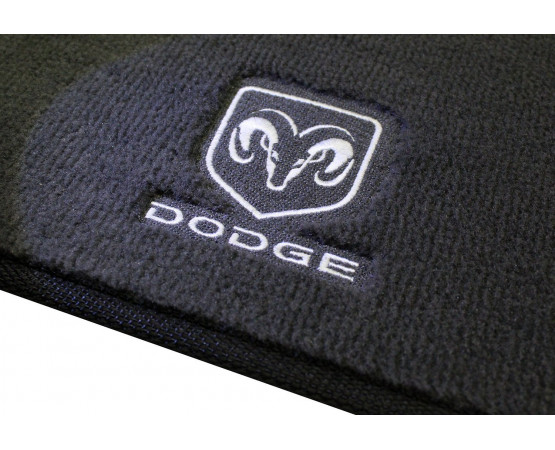 Tapete Dodge Dakota Cabine Estendida Luxo Chumbo
