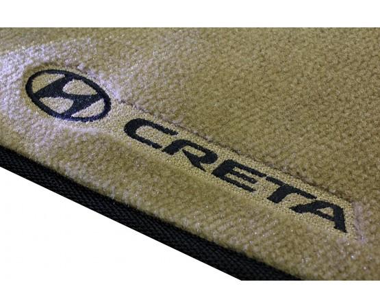 Tapete Hyundai Creta Caramelo Luxo (Alfabetoauto) por alfabetoauto.com.br