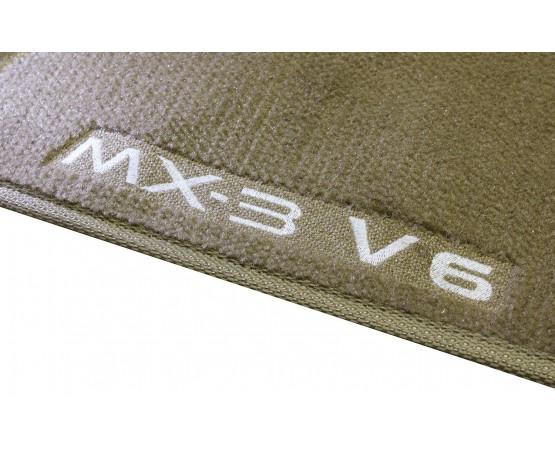 Tapete Mazda MX3 Caramelo Luxo (Alfabetoauto) por alfabetoauto.com.br