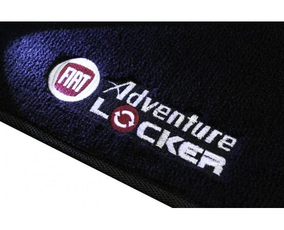 Tapete Fiat Palio Adventure Locker Luxo Preto (Alfabetoauto) por alfabetoauto.com.br