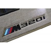 Tapete BMW Série 3M Bege/preto Luxo
