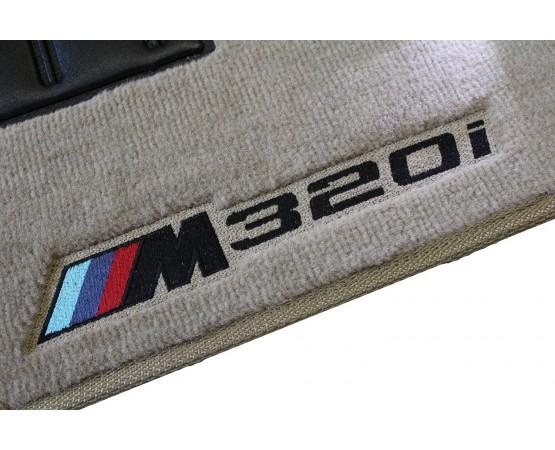 Tapete BMW Série 3M Bege/preto Luxo (Alfabetoauto) por alfabetoauto.com.br