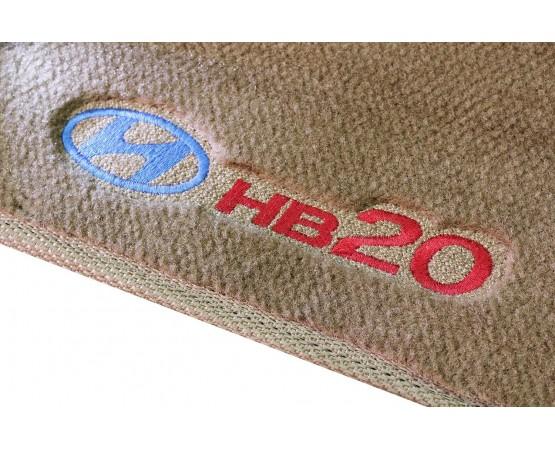Tapete Hyundai HB20 Caramelo Luxo (Alfabetoauto) por alfabetoauto.com.br