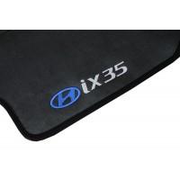 Tapete Hyundai IX35 Traseiro Inteiriço Preto Borracha