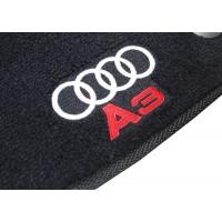 Tapete Audi A3 Preto Luxo
