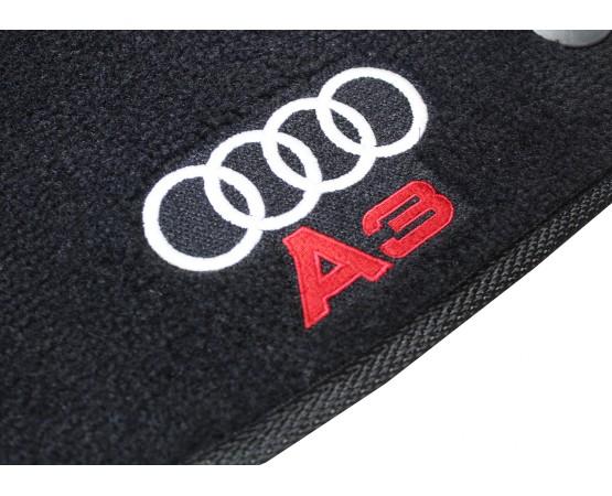 Tapete Audi A3 Sedan Preto Luxo (Alfabetoauto) por alfabetoauto.com.br