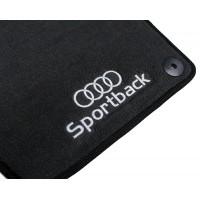 Tapete Audi A3 Sportback Preto Luxo