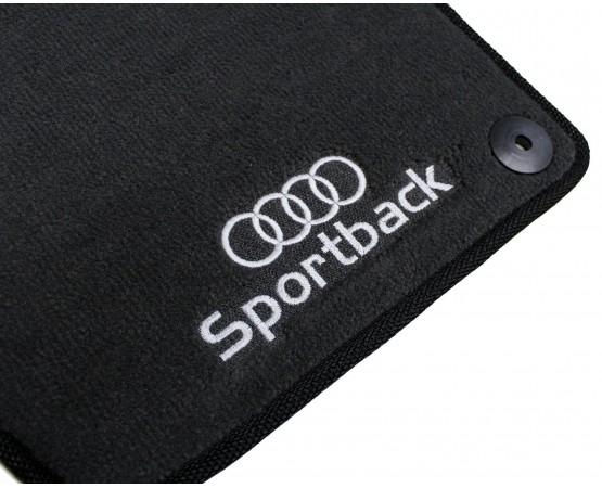 Tapete Audi A3 Sportback Preto Luxo (Alfabetoauto) por alfabetoauto.com.br