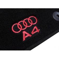 Tapete Audi A4 Preto Luxo