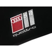 Tapete Audi S4 Preto Luxo