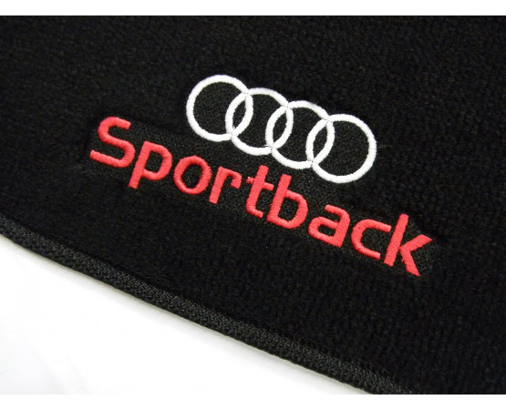 Tapete Audi A4 Sportback Preto Luxo (Alfabetoauto) por alfabetoauto.com.br
