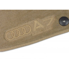 Tapete Audi A7 Bege Luxo