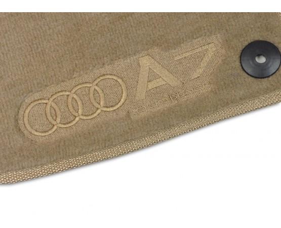 Tapete Audi A7 Bege Luxo (Alfabetoauto) por alfabetoauto.com.br