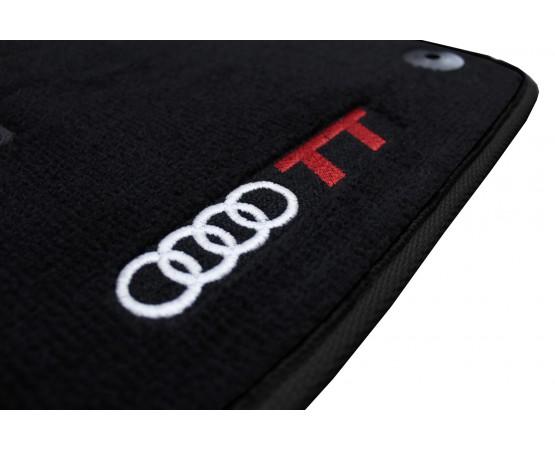 Tapete Audi TT Preto Luxo (Alfabetoauto) por alfabetoauto.com.br