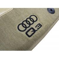Tapete Audi Q3 Bege Luxo