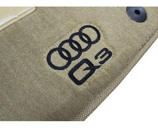 Tapete Audi Q3 Bege Luxo (Alfabetoauto) por alfabetoauto.com.br