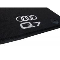 Tapete Audi Q7 7 Lugares Preto Luxo