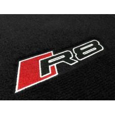 Tapete Audi R8 Preto Luxo