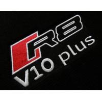 Tapete Audi R8 Preto/laranja Luxo