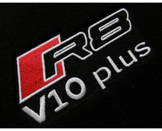 Tapete Audi R8 Preto/laranja Luxo (Alfabetoauto) por alfabetoauto.com.br